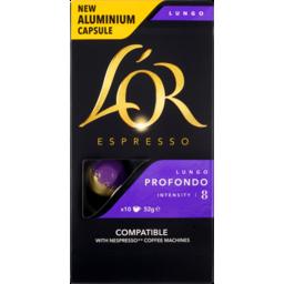 Photo of Lor Espresso Cap Profundo 10pk