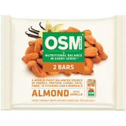 Photo of One Square Meal Almond 169g