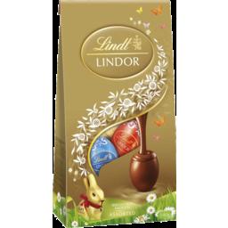 Photo of Lindt Lindor Egg Pouch Bag Assorted 140gNew 2016