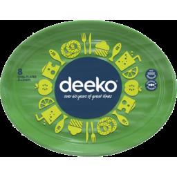 Photo of Deeko Plastic Steak Plates 8