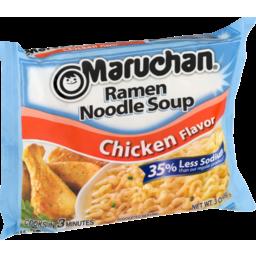 Photo of Maruchan Ramen Noodle Soup Chicken Flavor 35% Less Sodium