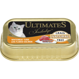 Photo of Ultimates Indulge Whitemeat Tuna With Flaked Salmon 85g