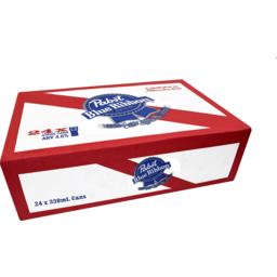Photo of Pabst Blue Ribbon Can 330ml 24 Pack