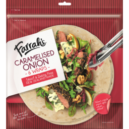 Photo of Wraps Farrah's Caramelized Onion 6 Pack