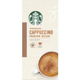 Photo of Starbucks Premium Instant Cappuccino Coffee Sachet 5 Pack 70g
