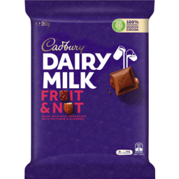Photo of Cadbury Dairy Milk Fruit & Nut 350g