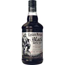 Photo of Captain Morgan Black Spiced Rum