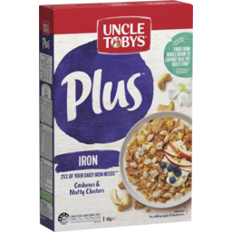 Photo of Uncle Tobys Plus Iron Breakfast Cereal 410g