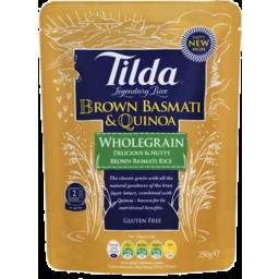 Photo of Tilda Brown Basmati & Quinoa 250gm