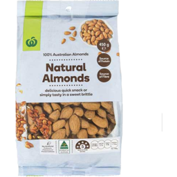 Photo of WW Almonds Natural 450g