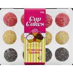 Photo of Happy Food Cupcakes Mini Iced 12pk