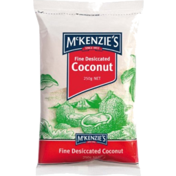 Photo of McKenzies Fine Desiccated Coconut 250gm