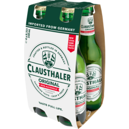 Photo of Clausthaler Low Alcohol 4 Pack
