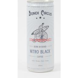 Photo of Bondi Circus Coffee Nitro Black 250ml