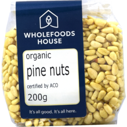 Photo of Wholefoods House Pine Nuts Raw Org 200g
