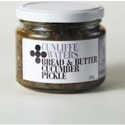 Photo of Cunliffe & Waters Bread & Butter Cucumber Pickle 320g