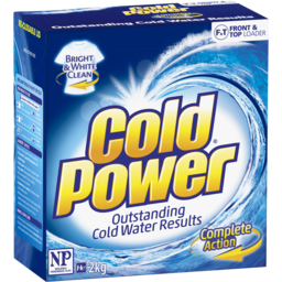 Photo of Cold Power Complete Action, Powder Laundry Detergent, 2kg