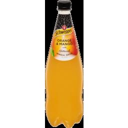 Photo of Schweppes Orange & Mango Mineral Water 1.1lt