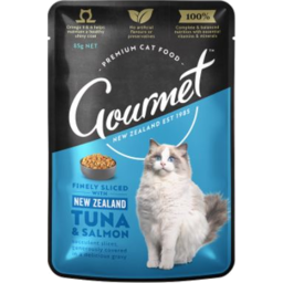 Photo of Gourmet Cat Nz Tuna & Salmon 85G