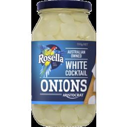 Photo of Rosella Aristocrat White Cocktail Onions 550g