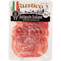 Photo of Rustico Black Label Antipasto Italiano 100g