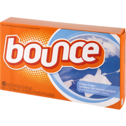 Photo of Bounce Dryer Sheets Fresh Linen Scent