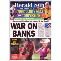 Photo of Herald Sun Friday 1st Edition