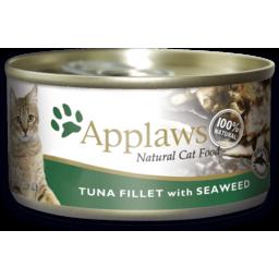 Photo of Applaws Cat Food Tin Tuna Seaweed 70g