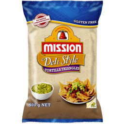 Photo of Mission Corn Chips Deli Style 500g