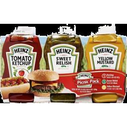 Photo of Heinz Ketchup/Mustard/Relish Picnic