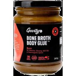 Photo of Gevity RX Bone Broth Concentrate - Burn 260g
