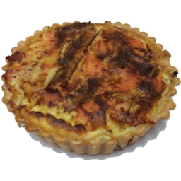 Photo of Salmon & Brie Quiche Large