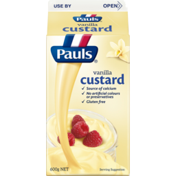 Photo of Pauls Custard Vanilla 600g