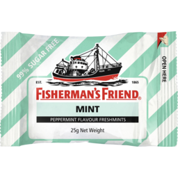 Photo of Fisherman's Friend Mint Sugar Free 25g