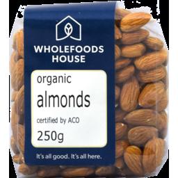 Photo of Wholefoods House Almonds Organic 250g