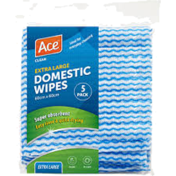 Photo of Ace Domestic Wipes Extra Large 5 Pack