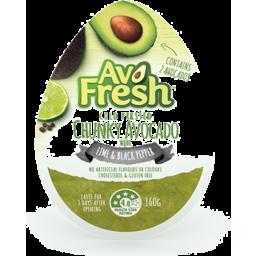 Photo of Avofresh Chunky Avocado Lime & Black Pepper 160gm