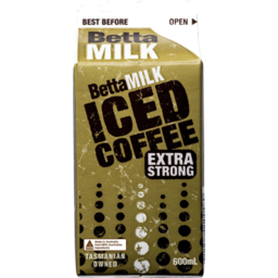 Photo of Betta Milk Iced Coffee Carton 600ml