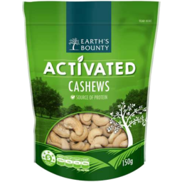 Photo of Earth's Bounty Activated Cashews 150gm