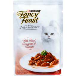 Photo of Fancy Feast Cat Food Inspirations Beef 70g