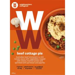 Photo of Weightwatchers Beef Cottage Pie 320g