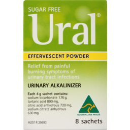 Photo of Ural Powder Sachets 4g 8