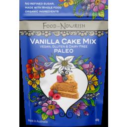 Photo of Food To Nourish Cake Mix Divine Vanilla 400g