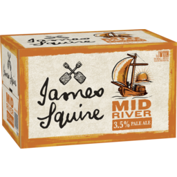 Photo of James Squire Mid River Mid Strength Pale Ale 345ml 24 Pack