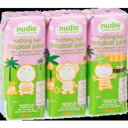 Photo of Kids Nudie - 3 Pack - Tropical 250ml