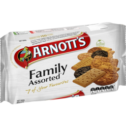 Photo of Arnott's Biscuits Family Assorted 6 Favourites 500gm