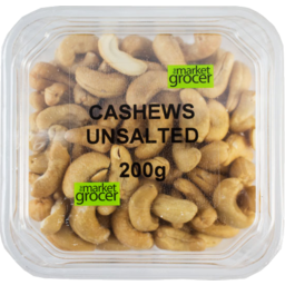 Photo of The Market Grocer Cashews Unsalted 200gm