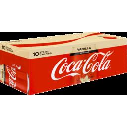 Photo of Coca Cola No Sugar Vanilla Cans 10x375ml