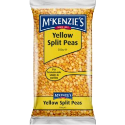 Photo of Mckenzies Yellow Split Peas 500g