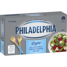Photo of Dai Kraft Philadelphia Light Cream Cheese Block 250g